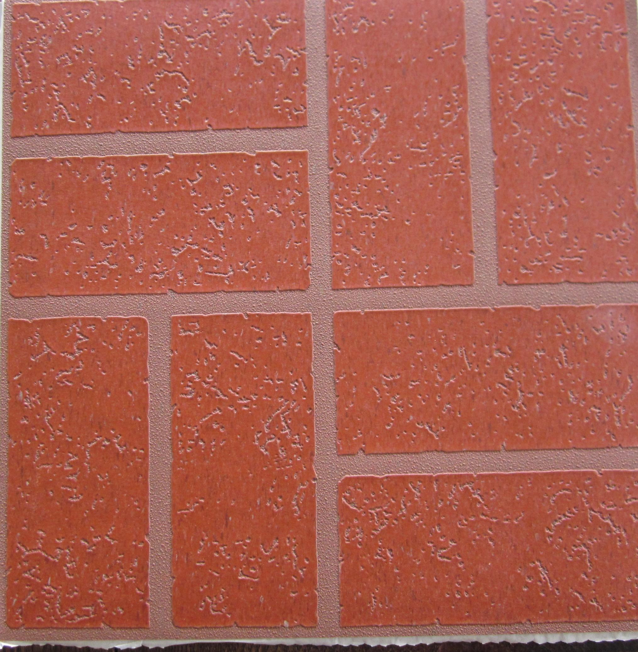 A brick in time smallhousepress for Vinyl floor tiles