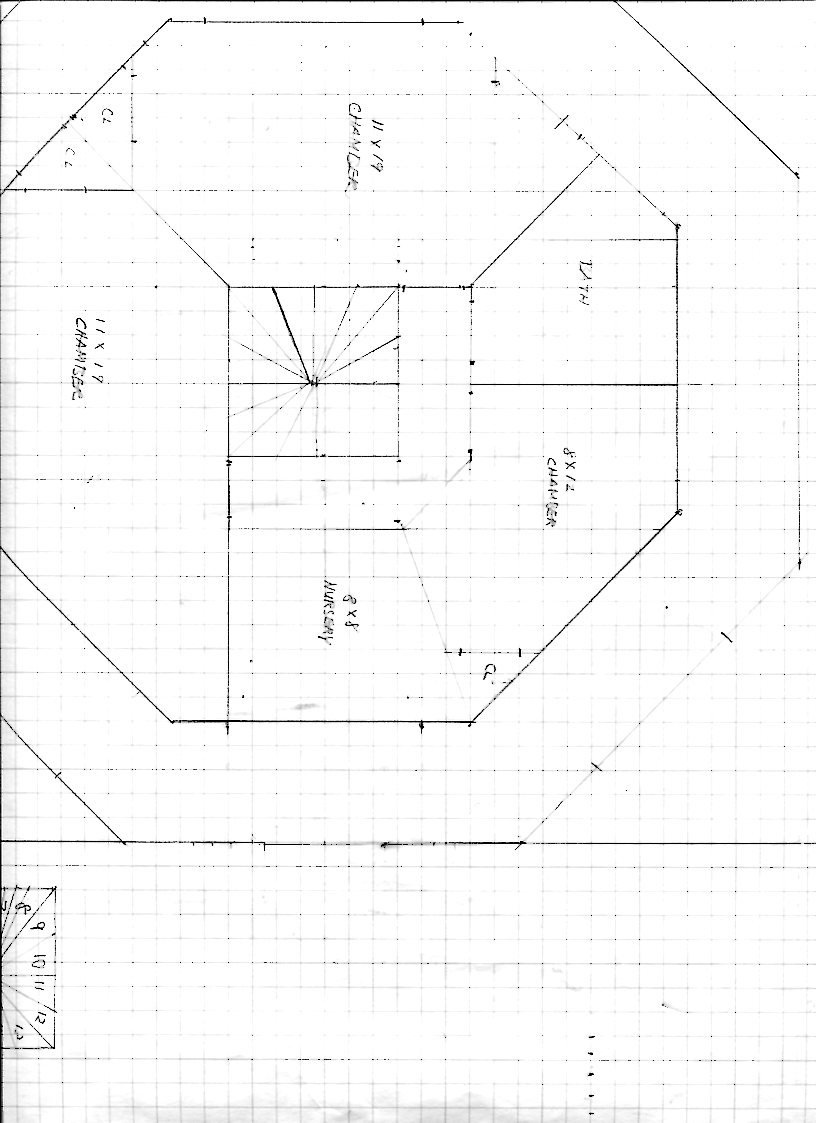 Octagon shaped floor plans great home design for Octagon shape house plans