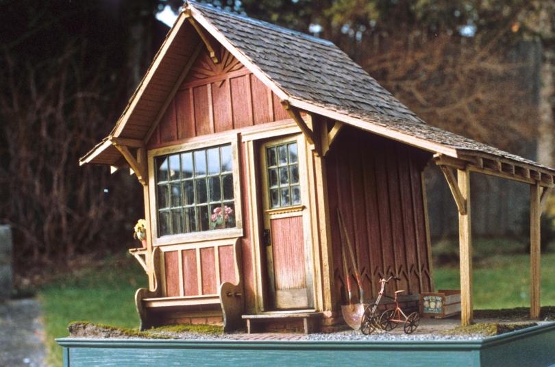 Small gambrel cabin plans joy studio design gallery for Gambrel cabin plans