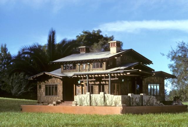 The Greene & Greene miniature house