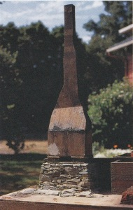 Plywood chimney form