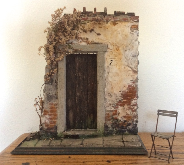 The Italian Ruin, with chair by Catherine Soubzmaigne