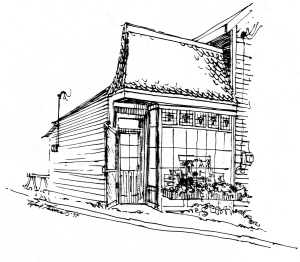 Castine Gallery drawing
